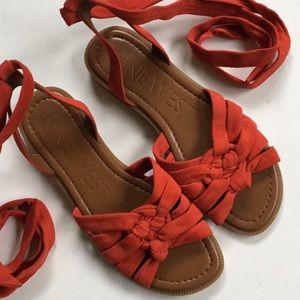 NWOT Nine West leather sandals